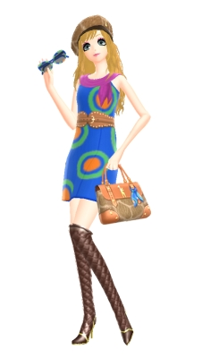 Animal Crossing New Leaf Gracie Fashion Checks
