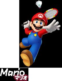 マリオ Mario. ルイージ Luigi. ソニック Sonic