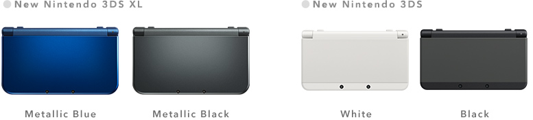 Nintendo 3ds Xl Colors : News release aug