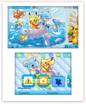 57ac8b4bd Two brand-new Pokémon themes are now available for purchase on Nintendo 3DS  in Japan. The Riding Lapras and Team Rainbow Rocket Boss Pikachu themes can  be ...