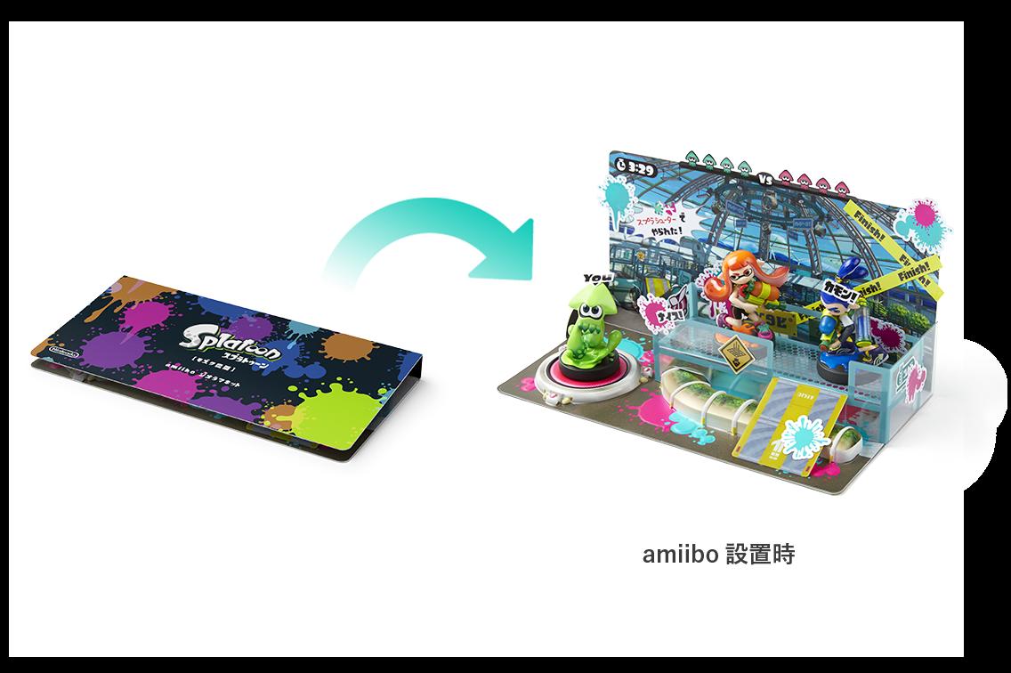 amiibo diorama kit Splatoon [mozuku farm]