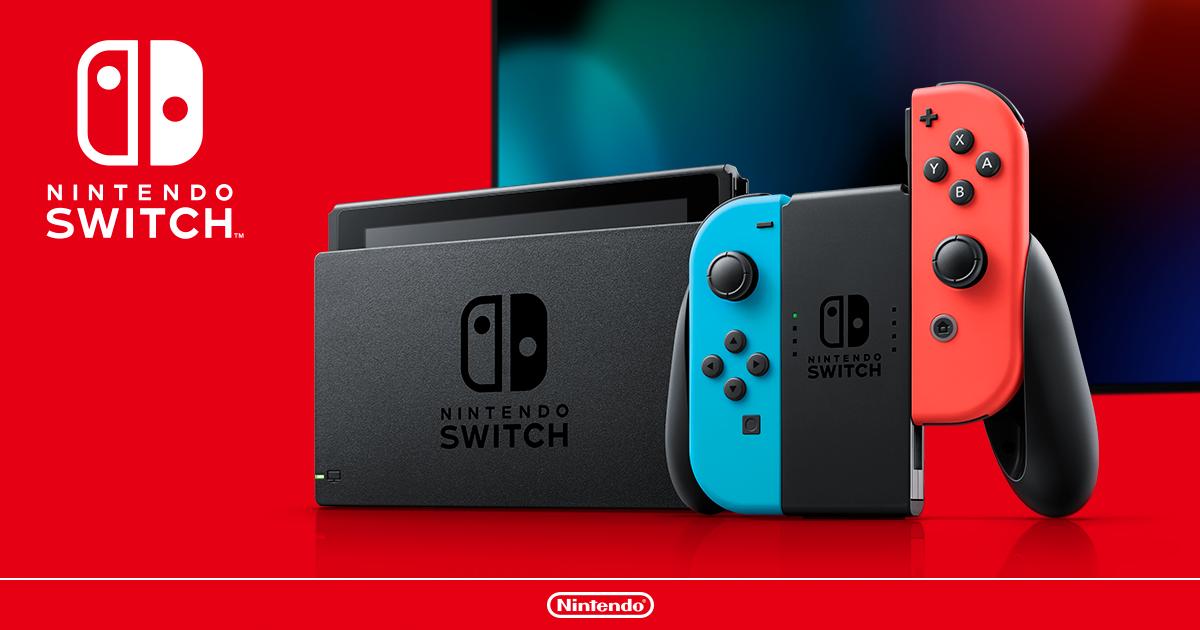 Nintendo Switch|任天堂