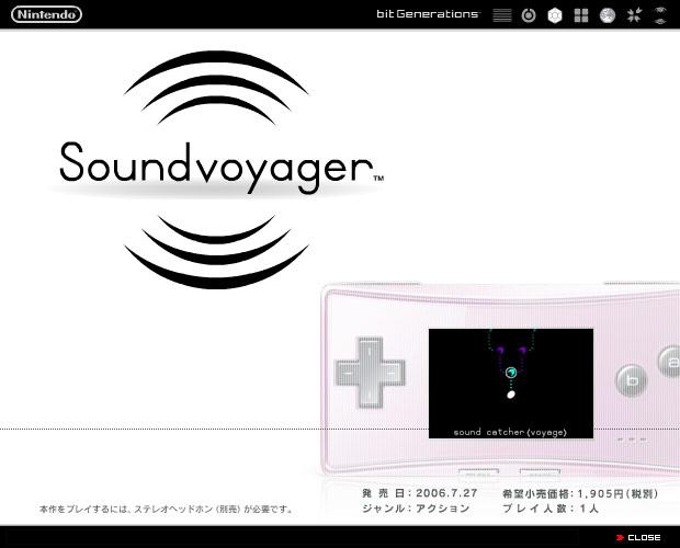 Bit Generations Sound Voyager