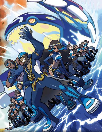 Nintendo News 『ポケットモンスター オメガルビー・アルファサファイア 3ds 』 主人公の前に立ちはだかるマグマ団 215 アクア団 その目的とは  任天堂