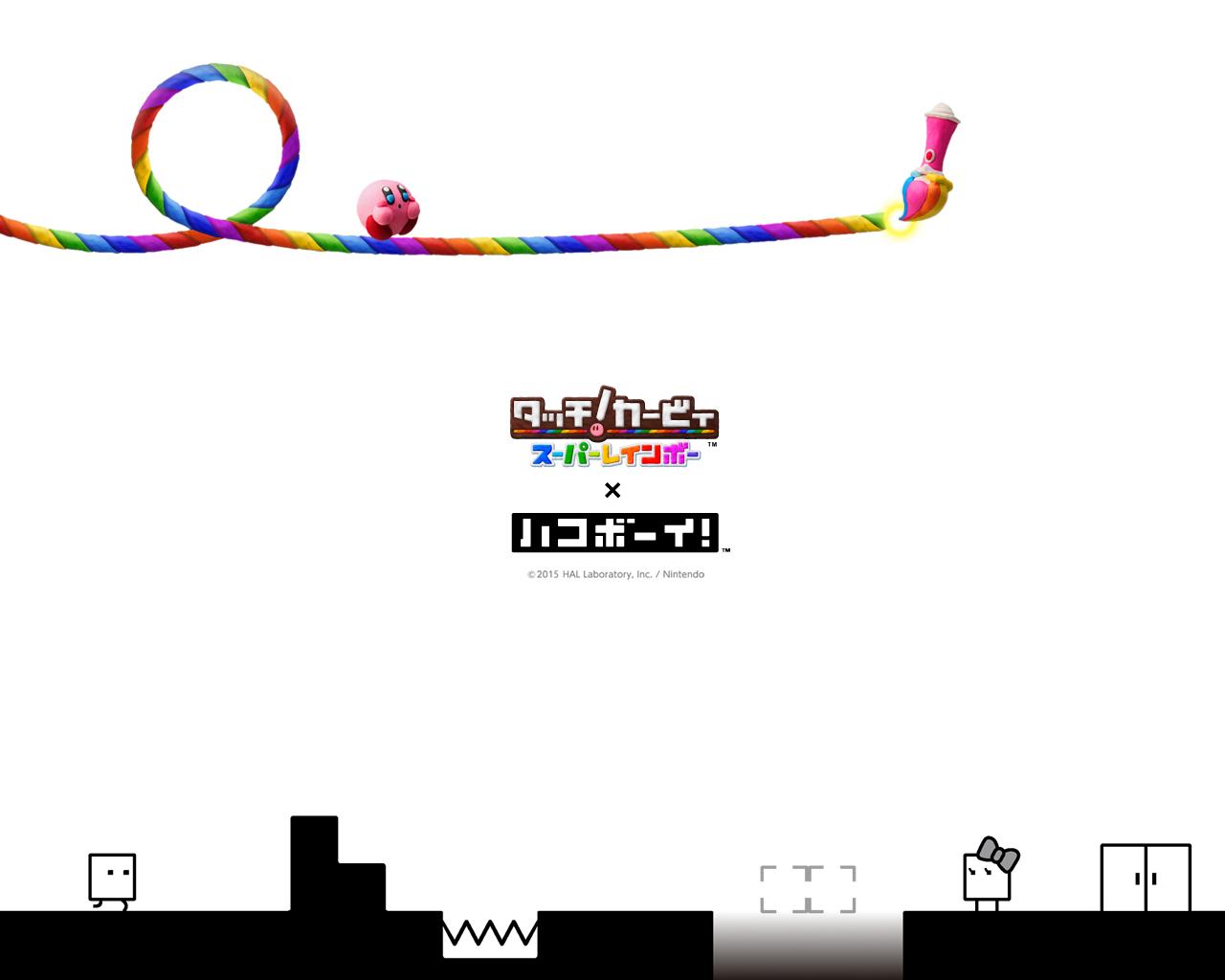 Nintendo News | カービィ×キュービィ オリジナル壁紙