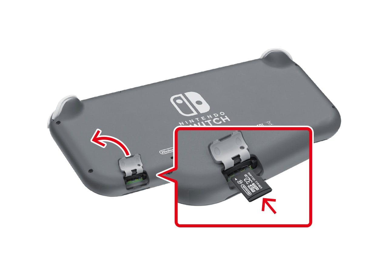 Switch sd カード 必要