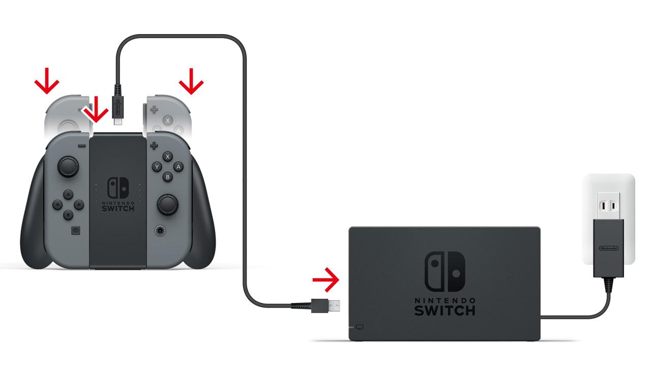 switch コントローラ 充電