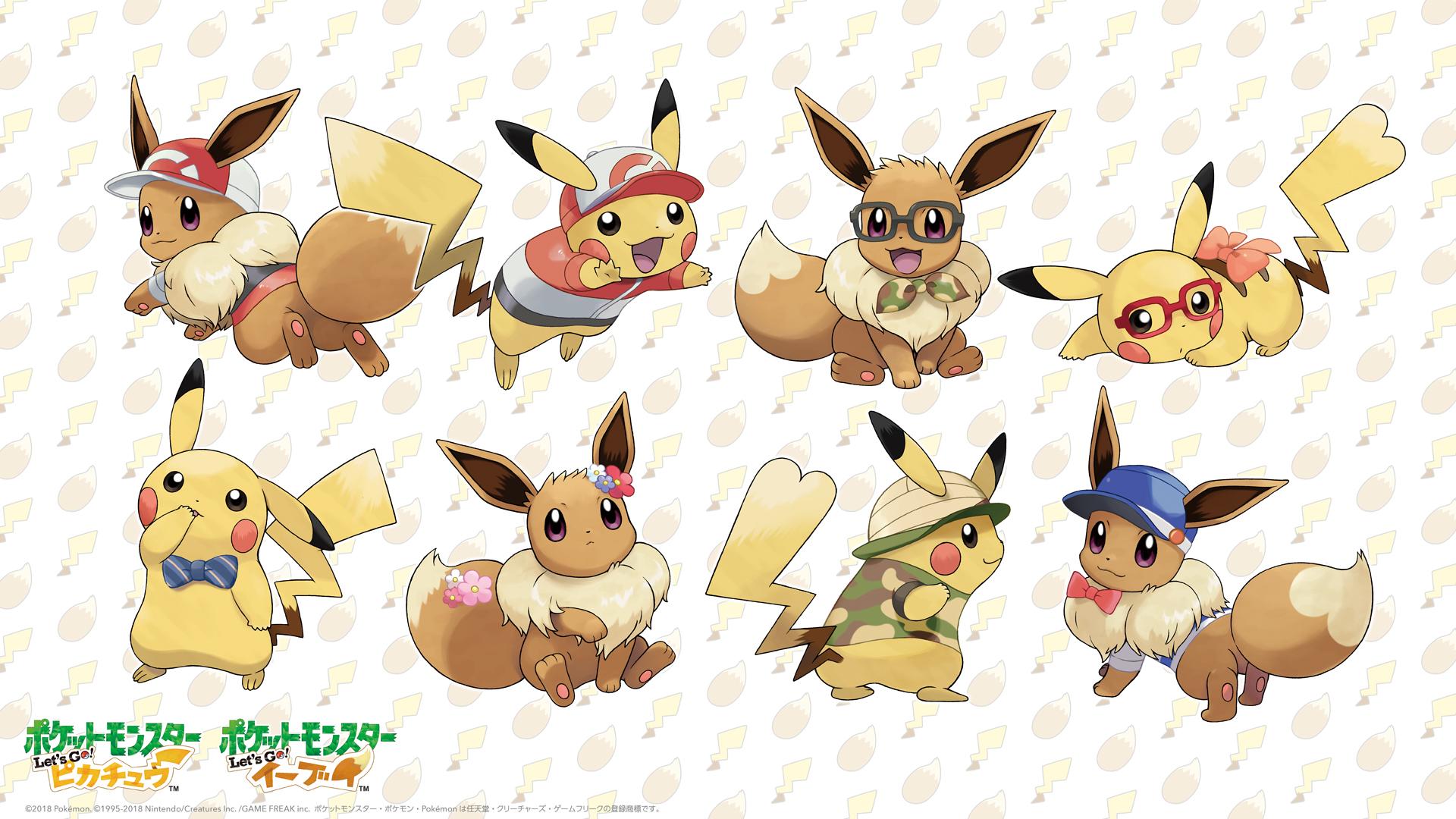 Hair Style Eevee: Download This Pokemon Let's GO Pikachu/Eevee Wallpaper For