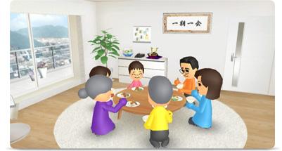 画面写真:Wiiの間