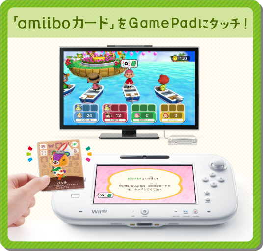 Animal Crossing Amiibo Festival Card_touch
