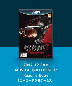 NINJA GAIDEN 3: Razor's Edge[コーエーテクモゲームス]